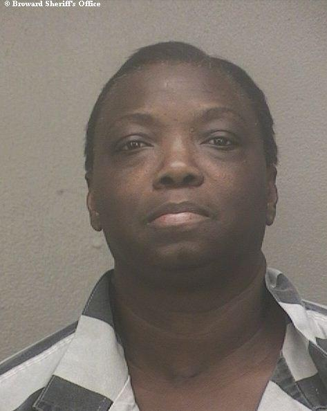Judith Ann Wimbley, 50, charged with grand theft, over $300 but less than $5000, conspiracy to commit grand theft, booked into the Broward County Jail