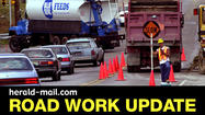 """Road Work Ahead"" signs are popping up around Franklin County, Pa., slowing traffic and fraying nerves."