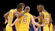 Metta World Peace, Pau Gasol, Dwight Howard, Jodie Meeks