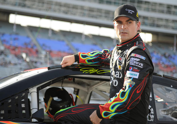 Jeff Gordon is 15th in the Sprint Cup standings.