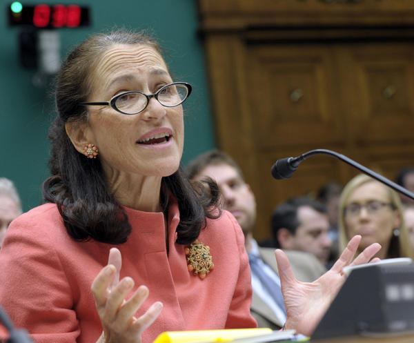 Food and Drug Administration Commissioner Margaret Hamburg, shown in a previous Capitol Hill appearance, faced harsh questioning from lawmakers on Tuesday.