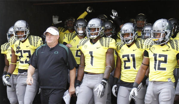 Oregon has acknowledged major NCAA violations in its football program related to the school's football recruiting.