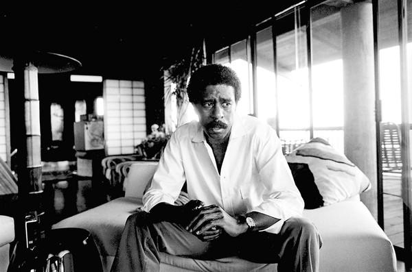 "A scene from the documentary ""Richard Pryor: Omit the Logic."""