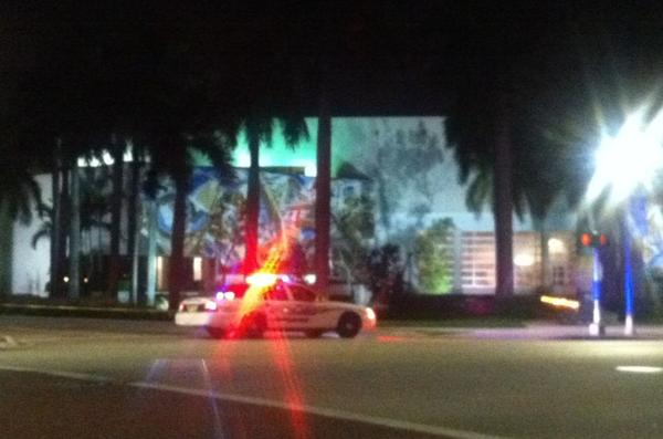 A suspicious package was found in the parking garage at the South Palm Beach County courthouse in Delray Beach