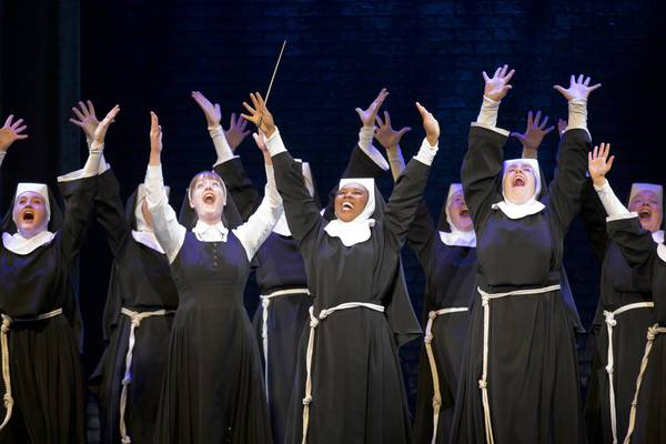 The cast of the national tour of 'Sister Act' running at The Bushnell Center for the Performing Arts through Sunday.