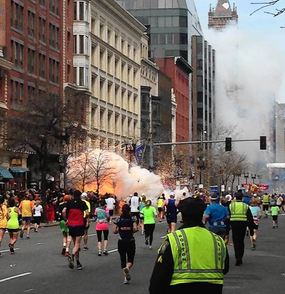 Three people were killed and more than 170 injured in bombings at the Boston Marathon on Monday.
