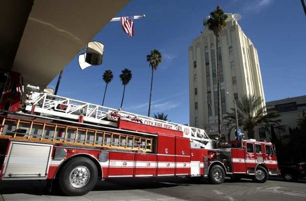Fire Truck Photos - Seagrave - Marauder - Pumper - Los Angeles ...