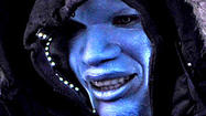 'Amazing Spider-Man 2': Jamie Foxx is blue in the face as Electro