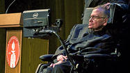 Photo Gallery: Stephen Hawking gives free lecture at Caltech