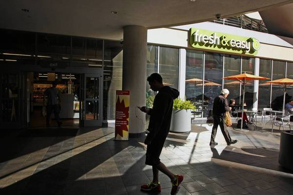 A Fresh & Easy store in Hollywood. The chain's parent, Tesco, said it is pulling out of the U.S.