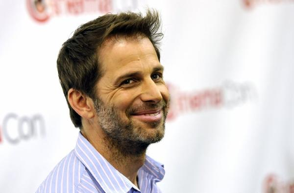 "Director Zack Snyder came to Las Vegas this week to promote his upcoming Superman film, ""Man of Steel."""
