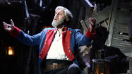 "Cheshire's <strong>Peter Lockyer</strong> stars as Jean Valjean in the touring production of ""<strong>Les Miserables""</strong> pokaying this weekend at the<strong> Shubert Theater</strong> in New Haven."