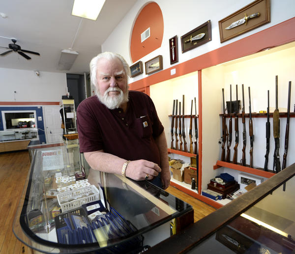 Robert Eaves owns J&R Things & Stuff and Pawn at 108 N. Queen St. in Martinsburg, W.Va. He opened the business on Jan. 14.