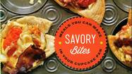 "Cupcake queen Hollis Wilder's first cookbook, ""Savory Bites: Meals You Can Make in Your Cupcake Pan,"" arrived in bookstores this month"