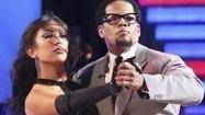 "The ballroom was a little less jokey at the end of ""Dancing With the Stars"" on Tuesday night, as D.L. Hughley and his pro partner Cheryl Burke were eliminated in the fifth week of competition."