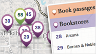"Just in time for the upcoming Los Angeles Times Festival of Books, The Times' books staff has created an <a href=""http://guides.latimes.com/literary-la/"" target=""_self"">interactive map of Literary Los Angeles</a>, a work in progress. We've gathered passages from more than two dozen books set in and around L.A., as well as literary landmarks and local bookstores."