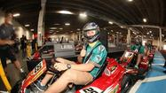Ryan Tannehill Go-Karts with kids for charity
