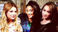 'Pretty Little Liars' Season 4 behind-the-scenes pics