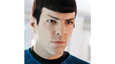 Zachary Quinto as Dr. Spock