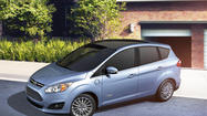 """The size is right,"" said one mother of two in an impromptu parking lot encounter with this week's review vehicle, the 2013 Ford C-Max.  She was even more enthusiastic when told about the fuel economy."