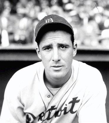 Hank Greenberg, first baseman for the Detroit Tigers, in this 1934 photo.