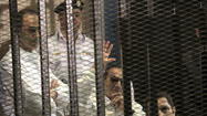 CAIRO -- Former Egyptian President Hosni Mubarak was ordered back to Tora Prison after a medical report Wednesday determined that he no longer needed advanced treatment at a military hospital along the Nile.