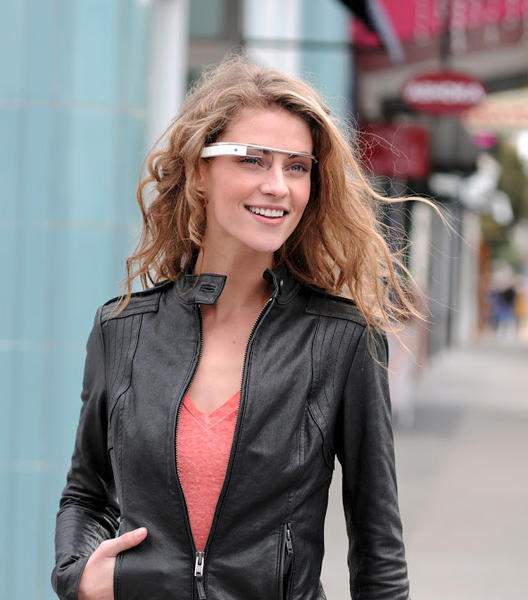 Google said its Glass device won't be able to send text messages or have GPS capabilities without an app the company has not released for the iPhone.