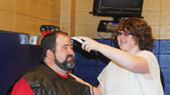 Photos: LCHS Band Director's New Hair-Do