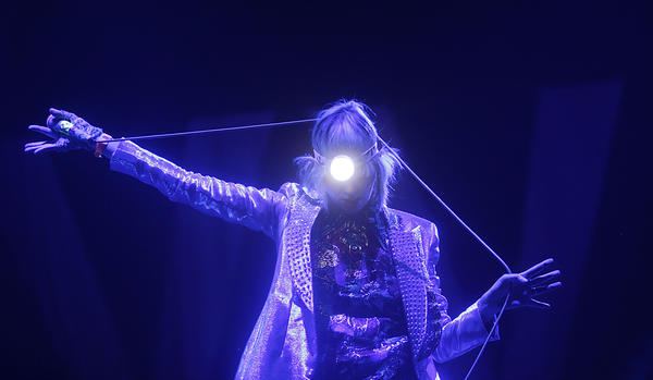 Karen O and the Yeah Yeah Yeahs perform at Weekend 1 of the Coachella Valley Music and Arts Festival.