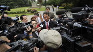 WASHINGTON -- Former South Carolina Gov. Mark Sanford's comeback try encountered severe turbulence Wednesday when the National Republican Congressional Committee withdrew its financial support less than three weeks before a special election for his former House seat.