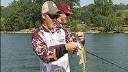 Smith Mountain Lake is preparing for a college fishing tournament.