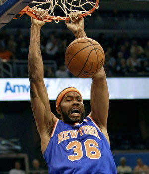 New York Knicks' Rasheed Wallace retired from the NBA for a second time Wednesday.