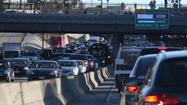 Freeway air pollution travels farther in early morning
