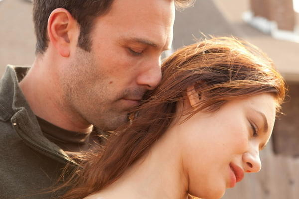 "Benn Affleck and Olga Kurylenko star in ""To the Wonder."""
