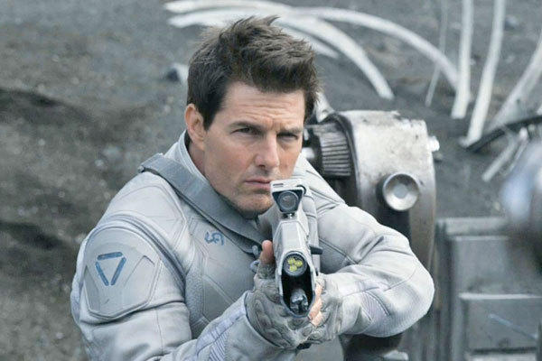 "Tom Cruise stars in ""Oblivion."""
