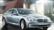 2013 BMW ActiveHybrid 740 Li