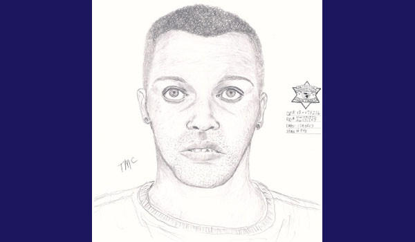 A police sketch of a man suspected of attacking two women on Saturday, April 13, on the Northwest Side.