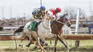 Photos: A jockey's life