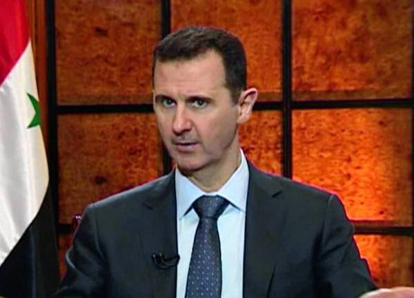Syrian President Bashar Assad, seen in an image taken from video, said on state television that the war against his government could spread to Jordan and beyond.