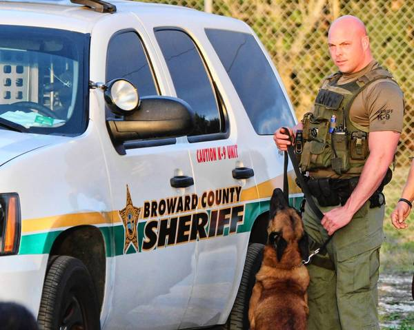 "Photos for ""Unleashed: K-9 Broward County"" BSO Deputy Jerry Wengert and Bali. Handout photo provided by: TLC / Discovery Communications"
