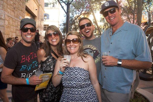 Beer fans enjoy various craft brews at the 2012 Great Vegas Festival of Beer. The 2013 event will be April 27.