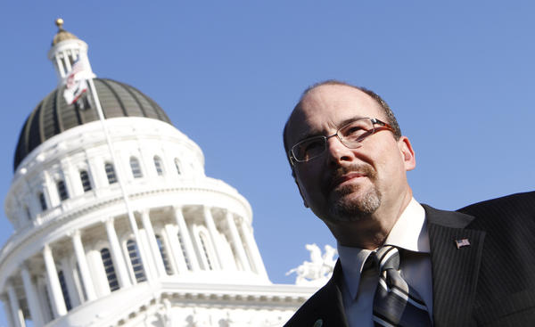 Assemblyman Tim Donnelly (R-Twin Peaks) proposed arming teachers to protect schools, but his bill was rejected Wednesday by his Assembly colleagues.