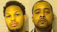 Two West Side men have been charged in the 2012 slaying of another Chicago man in Oak Park, authorities said.