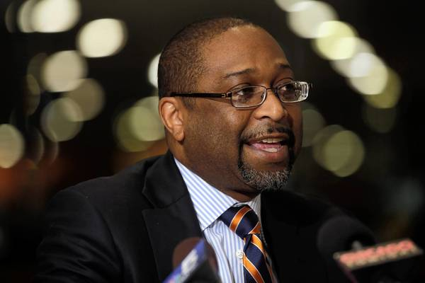 Todd Stroger was president of the Cook County Board when the three doctors were fired in 2007.