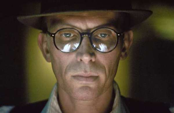 Peter Weller plays Williams Burroughs surrogate Bill Lee in 'Naked Lunch.'