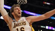With the season on the line, the Lakers (44-37) should have the advantage over the Houston Rockets (45-36) at power forward with 7-foot Pau Gasol.  After a dismal shooting night (3 for 17) in a Lakers victory over the San Antonio Spurs, Gasol needs a comeback night offensively against the Rockets. The difficult part for the Lakers will be guarding Houston's outside shooters in a game that might be their last of the season if the lose.