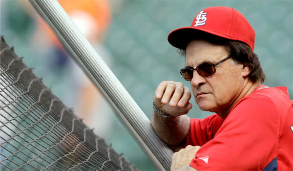 If the Fan of the House owned the Dodgers, he'd make some changes. One of them involves Tony La Russa.