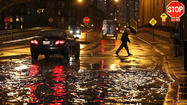 Property owners in the Chicago area who have suffered through flooding in the past face the possibility for more of the same Thursday and Friday, as hard rains continue to pound saturated ground.
