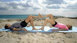 Partner exercise routines can be more fun than going it alone