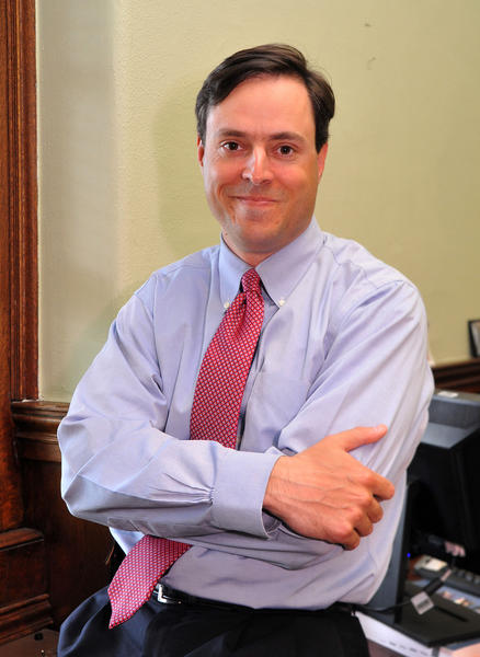 Matt Gallagher will head the nonprofit Goldseker Foundation. He has worked with Martin O'Malley for 13 years.